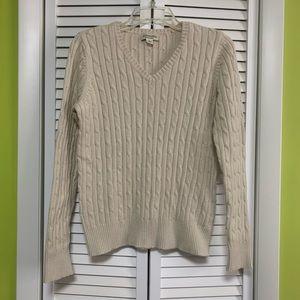 St. John's Bay knit sweater size M